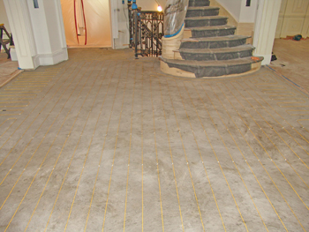 Tuff Cable under Porcelain Tile